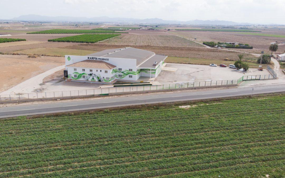 Karma Produce grows with its new facilities in El Jimenado